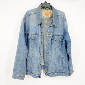 Levi's Denim Trucker Jacket XXL